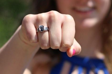 Woman reunited with class ring lost 29 years earlier